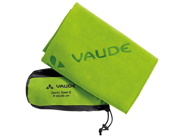 VAUDE Sports II - Serviette de bain - L vert
